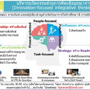 บริหารนวัตกรรมด้วยการคิดเชิงบูรณาการ (Innovation-focused integrative thinking)