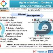 Agile mindset…ปรับสมองครองนวัตกรรมแบบยกทีม
